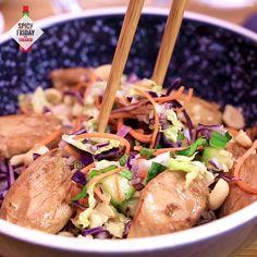 Tasty Videos, Food Videos, Recipe Videos, Healthy Crockpot Recipes, Healthy Salad Recipes, Proper Tasty, Exotic Food, Food Preparation, Asian Recipes