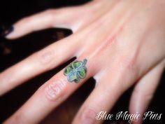 Little Clover Finger Tattoo - 55+ Cute Finger Tattoos
