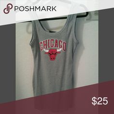 Chicago Bulls dress Very fitted and stretchy dress, NEVER WORN Forever 21 Dresses Mini