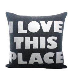 Alexandra Ferguson I Love This Place Pillow