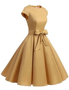 This elegant short dress features a cap sleeve round neckline.This dress is perf. - This elegant short dress features a cap sleeve round neckline.This dress is perfect for casual or a - Dresses Elegant, Cute Prom Dresses, Simple Dresses, Pretty Dresses, Vintage Dresses, Short Dresses, Formal Dresses, Mini Dresses, African Fashion Dresses