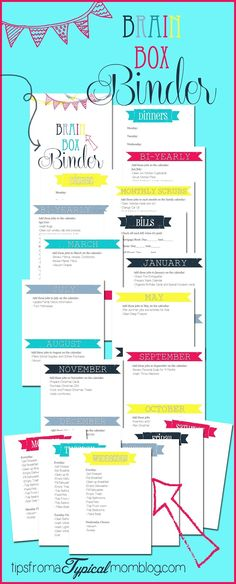 Year Round Cleaning List Binder Free Printables~ A Continually Clean House