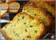 Plumcake con Arancia e gocce di Cioccolato
