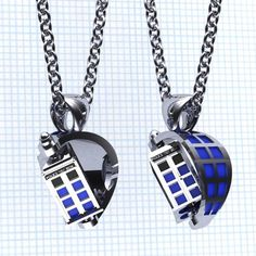 Doctor Who Spin Doctor TARDIS Pendant