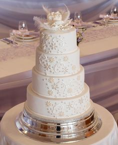 wedding cake with pearls and Bling by KuchenBoutique Wedding Cakes, Bling, Pearls, Desserts, Food, Tailgate Desserts, Meal, Wedding Pie Table, Beads