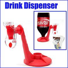 Party Fridge Fizz Saver Soda Coke Dispenser Drinking Device Soft Drink Dispenser