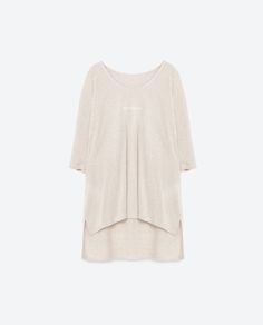 Image 8 of TEXT T-SHIRT from Zara