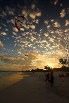 photo of kitesurf training by canvayimages