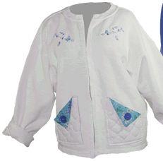Easy sweat shirt jacket