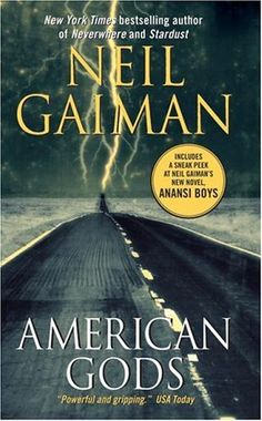 American Gods by Neil Gaiman. This book was my introduction to Neil Gaiman - which is weird as I had long known about his amazing Sandman comics, but had never found time to read. And I still haven't :) I've read plenty of his books though! Neil Gaiman, I Love Books, Great Books, Books To Read, My Books, Amazing Books, Reading Lists, Book Lists, Reading Time