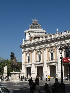 Michelangelo's Campidoglio - Rome, Italy
