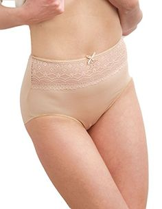 f5a90bf61017f Naomi and Nicole Edgies Nude Lace Brief A165 XLarge     See this great  product