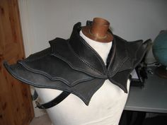 Leather fantasyshoulder by Nayberg.deviantart.com on @deviantART
