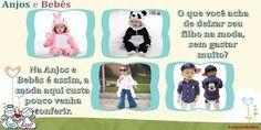 Anjos e Bebês (@AnjoseBebes) | Twitter Não perca a chance de comprar roupas sem sair de casa, e ainda pagar pouco. Confira nosso site www.anjosebebes.com.br #anjosebebes #roupasimportadas #importados #modainfantil #modabebe #modaimportados #mercadolivre #roupaonline #roupainfantil #roupas #crianças #bebes #mamaebebe #ccb #descontos #promocoes #moda #modacrianca #crianca #modacriança