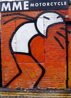 Simple pero llamativo - Graffiti and Urban Art on the Streets of London