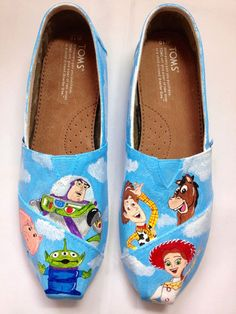 Hey, I found this really awesome Etsy listing at http://www.etsy.com/listing/151438657/toy-story-inspired-custom-painted-toms