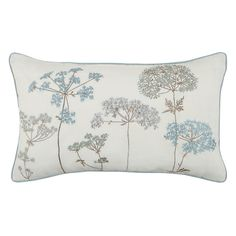 Buy John Lewis Hedgerow Cushion, Duck Egg Online at johnlewis.com