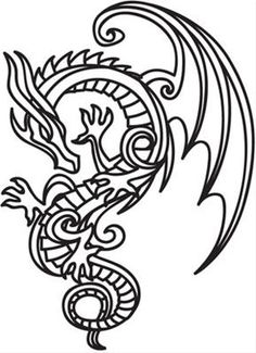 Top 25 Free Printable Dragon Coloring Pages Online  Coloring