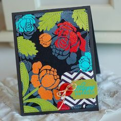Betsy Veldman's embossing with zing   Boutique Bargains and Papertrey Ink...  Thinking Inking /Debbie Olson Designs