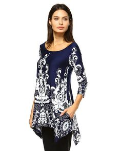 Aris Ultra Soft Stretch Tunic Poncho Dress Standard and Plus Size Bundle Top Bag Extra Large Navy -- For more information, visit image link. Womens Clothing Stores, Clothes For Women, Poncho Dress, Tunics Online, Plus Size Women, Women Wear, Tunic Tops, Navy, Bohemian Dresses