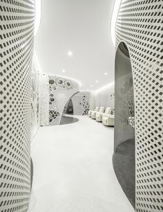 Gallery of Beijing Space of Lace Pattern—Lily Nails Salon / ARCHSTUDIO - 6