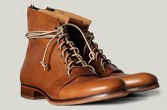 Hard Graft, men's high boot,   http://www.hardgraft.com/products/menshighboot-heritage#    Gorgeous.