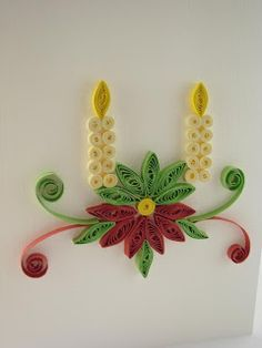 Handmade gifts - quilling art: FQ034 - Merry Christmas - 10 lei sold