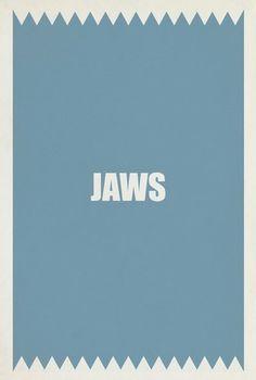 Jaws Minimalist Movie Posters