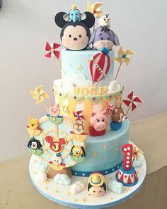 Más Recetas en https://lomejordelaweb.es/ | Disney Tsum Tsum Cake