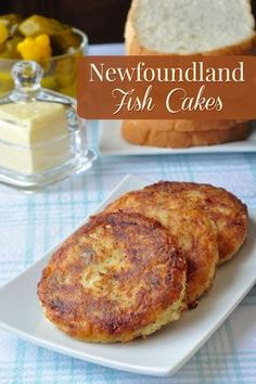 These traditional Newfoundland fish cakes have been made for countless generations using the most basic of ingredients like potatoes salt fish and onions. Check the recipe page for a new twist that turns them into Eggs Benedict for your weekend brunch! Fish Dishes, Seafood Dishes, Fish And Seafood, Seafood Recipes, Cooking Recipes, Cooking Games, Maine Seafood, Tasty Dishes, Cod Fish Cakes
