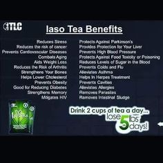 Iaso Tea  This really works ask me how.