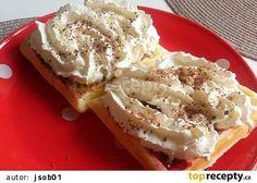 Hrníčkové vafle recept - TopRecepty.cz Nutella, Camembert Cheese, French Toast, Baking, Breakfast, Food, Bread Making, Breakfast Cafe, Meal