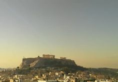 The #Acropolis of #Athens - The #Parthenon. Great panoramic view of one of the Ancient Wonder in live #webcam!