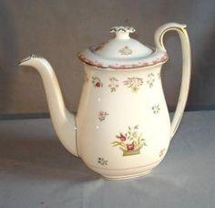 "Wedgwood ""Bianca"" teapot by angelita"