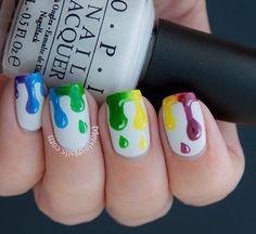 Cool nails. Creative and fun!