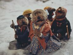 """""""He took a chance on snake oil, and you took a chance on a washtub."""" - Emmet Otter's Jugband Christmas"""