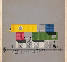 當建築變成音樂