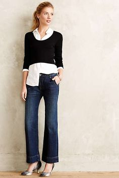 Levi's Sailor Cropped Jeans