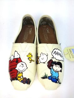 Customize+Charlie+Brown+Toms+by+Artsysole45+on+Etsy,+$120.00