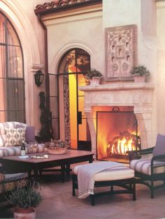 Amazing #Outdoor #Fireplace Designs Part 3 - Style Estate -