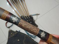 Making of a mosaic patterned Manchu bow Archery Thumb Ring, Traditional Archery, Thumb Rings, Mosaic Patterns, Bows, How To Make, Arches, Leather, Bowties