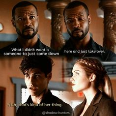 "#Shadowhunters 1x08 ""Bad Blood"" - Luke, Alec and Lydia"