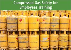 Ensure employees are being as safe as possible when using compressed gas cylinders, with this Compressed Gas Safety Training