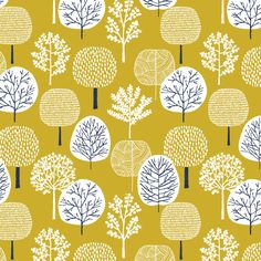 134304 Forest Citron from First Light by Eloise Renouf for Cloud9 Fabrics