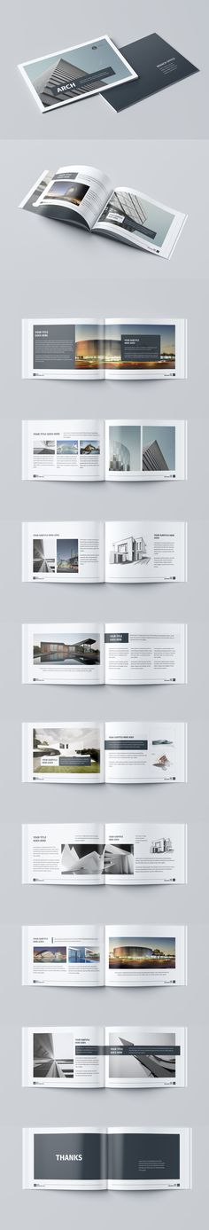 Minimal Architecture Brochure_F\B Brochures, Architecture and - architecture brochure template