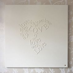 DIY Falling in Love Canvas