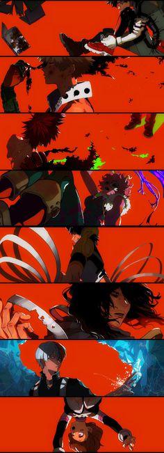 Boku no Hero Academia || Midoriya Izuku, Katsuki Bakugou, Kirishima Eijirou, Ashido Mina, Hanta Sero, Aizawa Shouta, Todoroki Shouto, Uraraka Ochako.