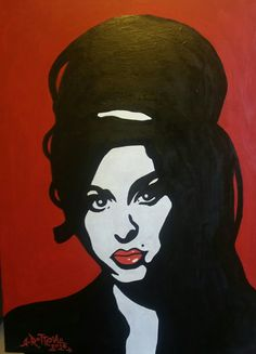 Amy Winehouse by Robby Rotten