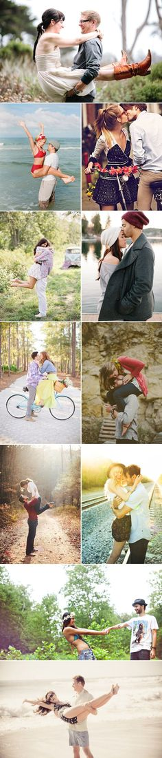 37 Fun Engagement photos. I'm overly obsessed with the Notebook one!