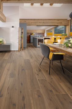Interior Design Kitchen, Corner Desk, Tiles, Flooring, Furniture, Home Decor, Open Concept, Houses, Plank Flooring